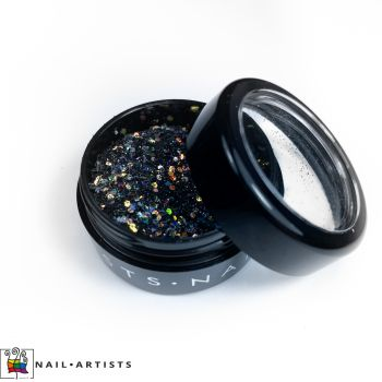 GLITTER MIX - BLACK