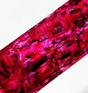 Taśma perlmutowa - red