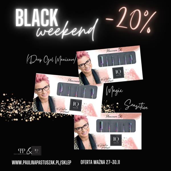 Black Weekend! Rabaty -10%  -15%  -20%